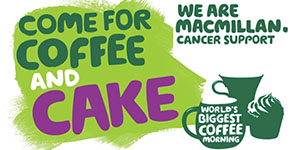 Macmillan Coffee Morning, Kirkham Grammar School, Friday 27th September 2019