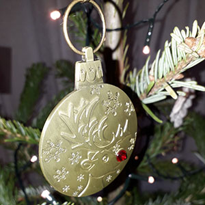 Rudolph Reindeer Medal with Ribbon