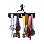 Hang Your Gong Female Runner Medal Hanger