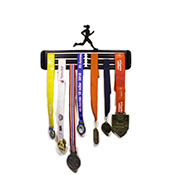 Large Hang Your Gong Female Runner Medal Hanger