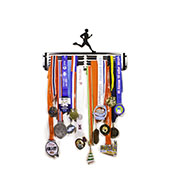 Large Hang Your Gong Male Runner Medal Hanger