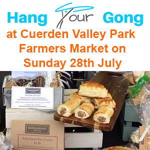 Cuerden Valley Park Farmers Market, Sunday 28th July 2019
